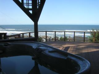Toddler Friendly, Unobstructed Ocean View/Hot Tub - Lincoln City vacation rentals