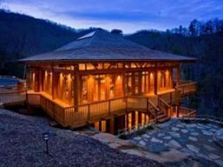 Hinoki House - Secluded gem overlooking  waterfall near Cashiers - Cashiers - rentals