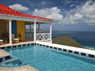 Sunny Side Up at Morningside Lane, Tortola - Ocean View, Amazing Sunset View, Pool - Belmont vacation rentals