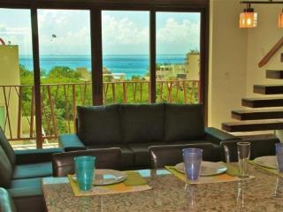 Very Unique 2 Bedroom Plus Loft with Ocean View -El Marine - Playa del Carmen vacation rentals