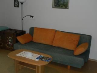 Vacation Apartment in Alpirsbach - 732 sqft, natural cork floor, parking space, child's bed available… - Sasbachwalden vacation rentals