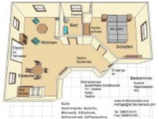 Vacation Apartment in Ruhpolding - 550 sqft, quiet location, separate bedroom, sauna (# 76) #76 - Vacation Apartment in Ruhpolding - 550 sqft, quiet location, separate bedroom, sauna (# 76) - Ruhpolding - rentals