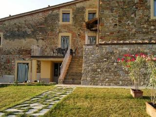 Viola Apartment with Garden, Pool, and Panoramic Views - Pergine Valdarno vacation rentals