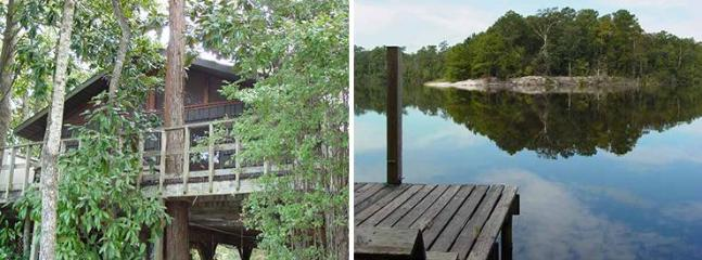 Front deck and view from front yard - Beautiful Views - Biloxi Riverfront Chalet - Biloxi - rentals