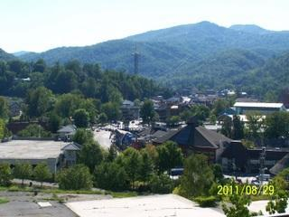 View from your balcony - Gatlinburg Chateau-2 Bedroom Condo (302) - Gatlinburg - rentals