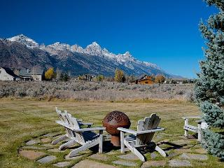 Western elegance, solitude and scenery with majestic Teton views!! - Jackson Hole Area vacation rentals
