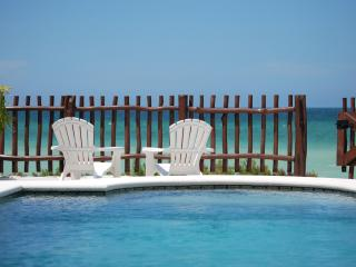 Beach Front Brand New Villa, Heated Pool & Wi-Fi - Telchac Puerto vacation rentals