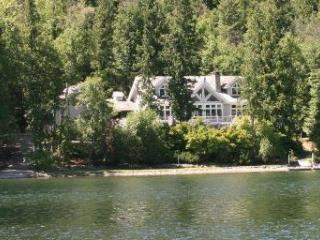 Swan Shores Lodge 200 ft. Lakefront on Swan Lake - Bigfork vacation rentals