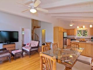 MBC:1bdr /1 bath cottage, in lush jungle setting and just steps to the ocean! - Anahola vacation rentals