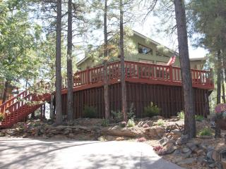 Charming Cabin with Deck and Internet Access - Munds Park vacation rentals