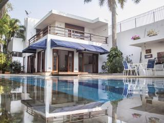 Incredible 3 Bedroom Beach House in Marbella - Colombia vacation rentals