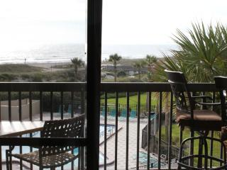 Oceanfront Condo with Pools Tennis Courts & More! - Tybee Island vacation rentals
