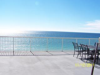 Large Balcony, New Carpet, and Beach Chairs at Palazzo - Panama City Beach vacation rentals