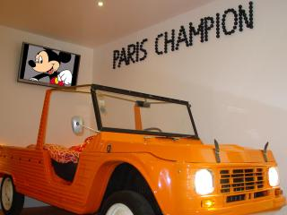 Funky Apartment In Montmartre With Free Car Park - Paris vacation rentals