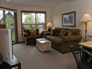 Aspens, prime ski-in, ski-out, 2 bdrm with bright pool view& BBQ - Whistler vacation rentals