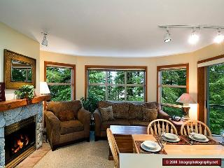 Aspens #427, 2 Bdrm, Ski-in Ski-out, Serene Forest View, Free Wifi - Whistler vacation rentals