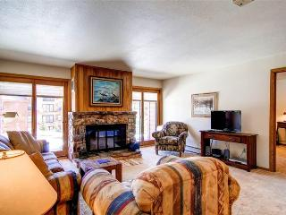 2 BR/2 BA, comfortable getaway for 6, clubhouse in same building with pool and hot tub - Silverthorne vacation rentals