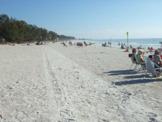 Gulf Beach Place, miles of whites sandy beach - Holmes Beach vacation rentals