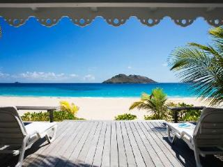 FAY - Beach House with wraparound terrace leads directly down to the beach - Saint Barthelemy vacation rentals