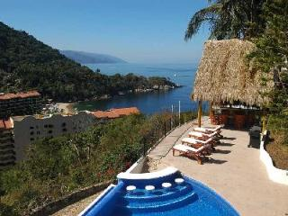 Hillside Casa Mismaloya- ocean views, infinity pool, jacuzzi, near beach - Mismaloya vacation rentals