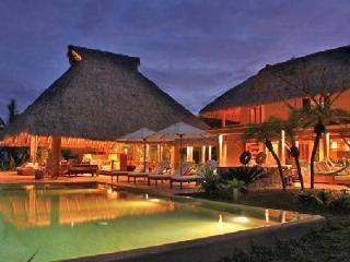 Casa Terral - Oceanfront villa boasts, heated infinity pool & spacious living area - Punta de Mita vacation rentals