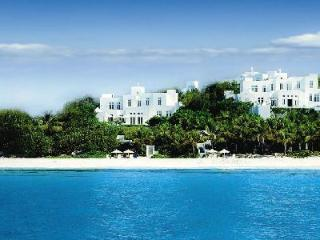 Sand Villa - Luxurious, beachfront villa on 2 storeys with pool & jacuzzi - Long Bay Village vacation rentals