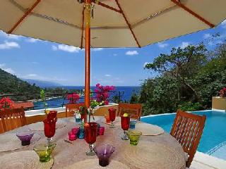 Gated Casa Castelli with sublime ocean view, lush landscaping & infinity pool - Mismaloya vacation rentals
