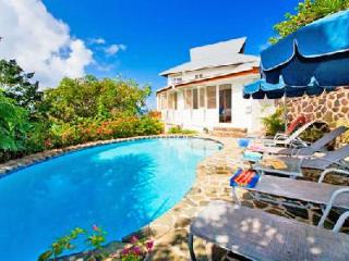 Hummingbird House - Caribbean style house with pool, sun deck & spectacular views - Cap Estate vacation rentals