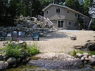 Spacious Lakefront Lodge-Pool Table, Pinball - Ellsworth vacation rentals