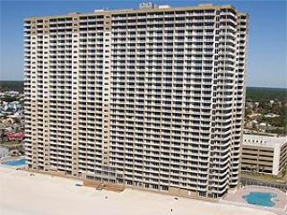 Tidewater Beach Resort from southeast - 4 Bedroom with Pool WIFI at Tidewater - Panama City Beach - rentals