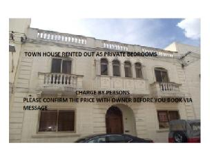 Town House in Qormi-Rented per person - Qawra vacation rentals