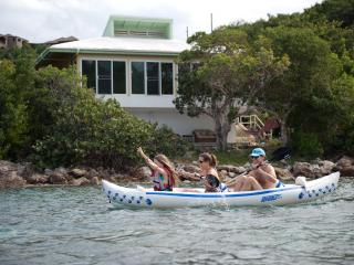 Best fun on St John! Free kayaks & snorkel Beach. - Cruz Bay vacation rentals