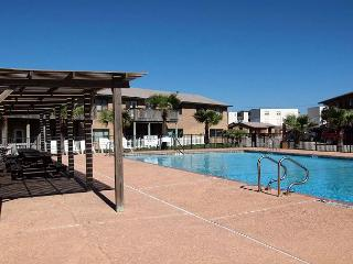 Sea Isle Village 1st floor condo, beach access, views the community pool - Port Aransas vacation rentals