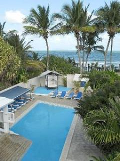 View from the roof top deck - Beachfront Villa, Bachelor parties, reunions, 6 bd - Cabarete - rentals