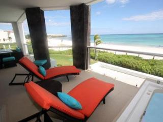 True Beachfront Golf Course Condo - Corazon - Playa del Carmen vacation rentals