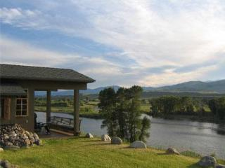 Point of View overlooking the Yellowstone River - Yellowstone vacation rentals