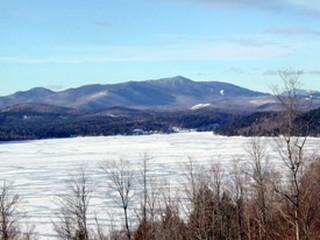 Winter view from the house - Schroon Lake Retreat - Adirondack Luxury Home 10+ - Adirondack - rentals