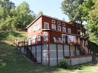 Riverfront home on 40 private acres-Brand New Dock - Wytheville vacation rentals