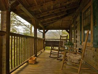 Mountain Rose Log Cabin - Buy 5 Nights or More Get 1 Free! Romantic, Private & Peaceful Sevierville Property w/Fishing Pond, Poo - Tennessee vacation rentals