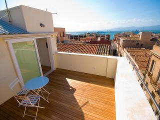 Luxury Penthouse with View on the Sea - Santa Margherita di Pula vacation rentals