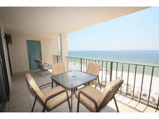Gulf-front balcony - Wind Drift 502 - Orange Beach - rentals