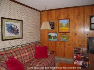 art by local artist - The Summit, 3 bedroom condo (A) Snowshoe Mtn in WV - Snowshoe - rentals