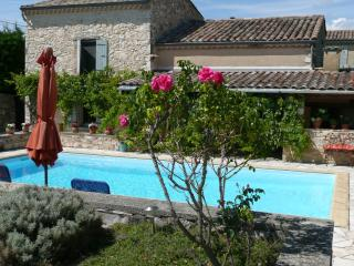 La Colombe Bleue in Drome provencale - La Begude-de-Mazenc vacation rentals