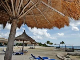 Beautiful 3 BR Villa at Costa del Sol, Oceanfront Pool, Private Pier - Cozumel vacation rentals