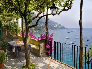 Villa Gaia terraces and sea view , Positano center - Positano vacation rentals