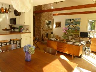 Relax among art and antiques 3BD contemporary - West Tisbury vacation rentals
