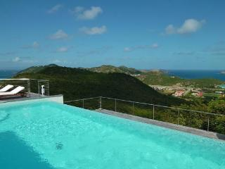 Contemporary villa overlooking the wonderful bay of St Jean WV KYR - Lurin vacation rentals
