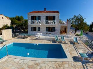 Villa Vjeka with private pool and sea views - Sumartin vacation rentals