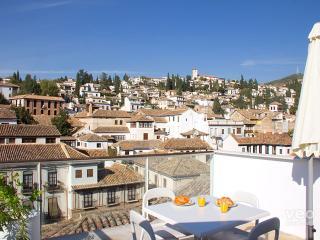 Granada Loft 5. 2 bedrooms for 6, terrace - Conchar vacation rentals