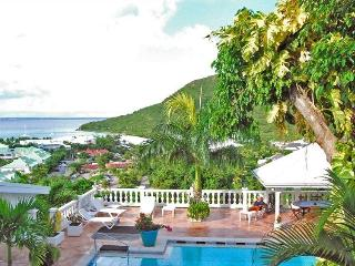 JOELLE... a truly unique luxury villa made for entertaining, great views and very tropical location - Anse Marcel vacation rentals